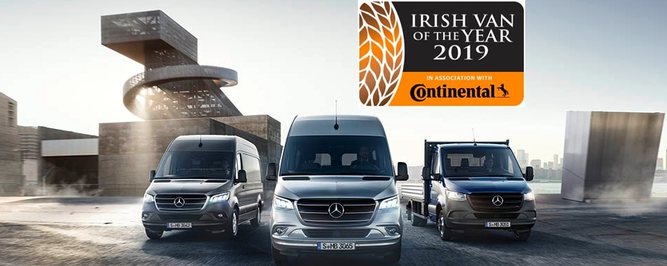 The New Sprinter Irish Van Of The Year 2019