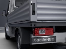 Sprinter Platform Vehicle, tail lamps with partial LED technology
