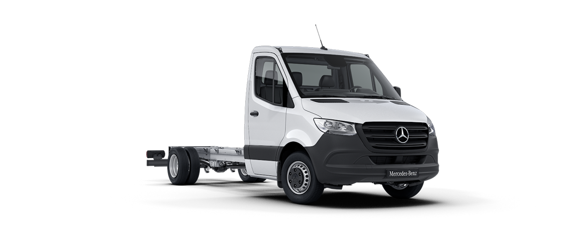 Sprinter Chassis Cab, Arctic white