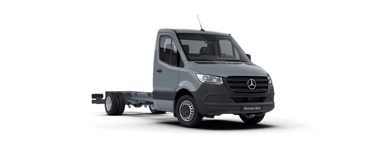 Sprinter Chassis Cab, blue-grey