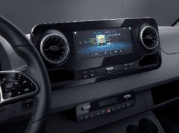 Sprinter Chassis, MBUX multimedia system with 10.25-inch touchscreen