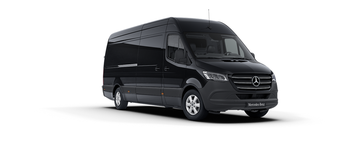Sprinter Panel Van, obsidian black
