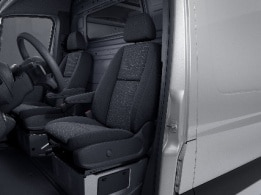 Sprinter Panel Van, driver's seat with lumbar support