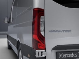 Sprinter Panel Van, tail lamps with partial LED technology