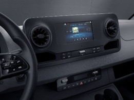 Sprinter Panel Van, MBUX multimedia system with 7-inch touchscreen