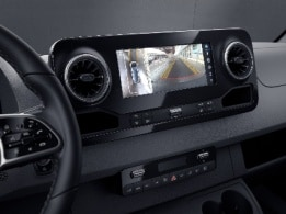 Sprinter Panel Van, Parking Package with 360-degree camera
