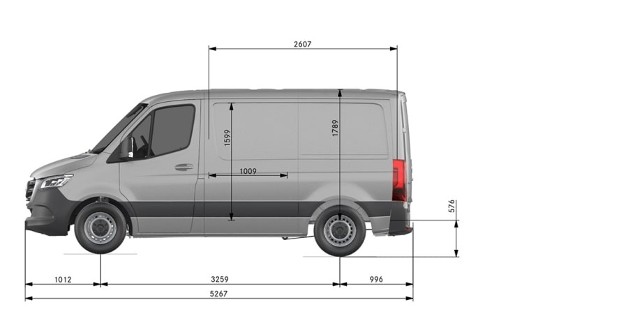 3/4 ton van weight