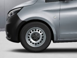 Vito Mixto, 40.6-cm (16-inch) steel wheels