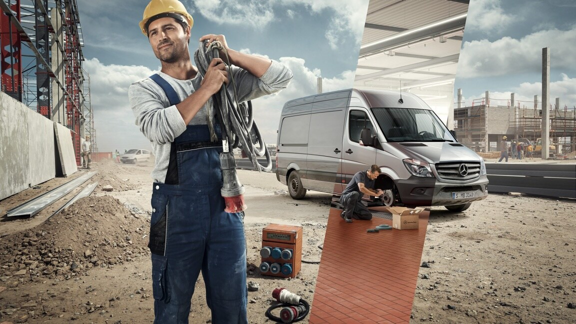 The Mercedes-Benz Service for vans