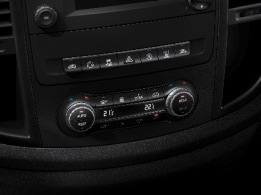Vito panel van, THERMOTRONIC automatic climate control