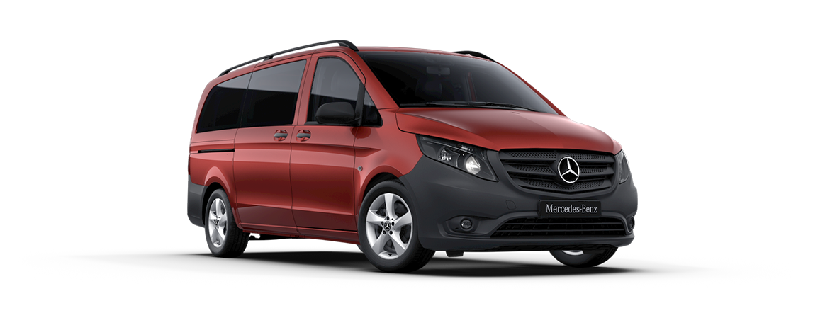 Vito Tourer, hyacinth red metallic